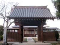 冨田寺山門
