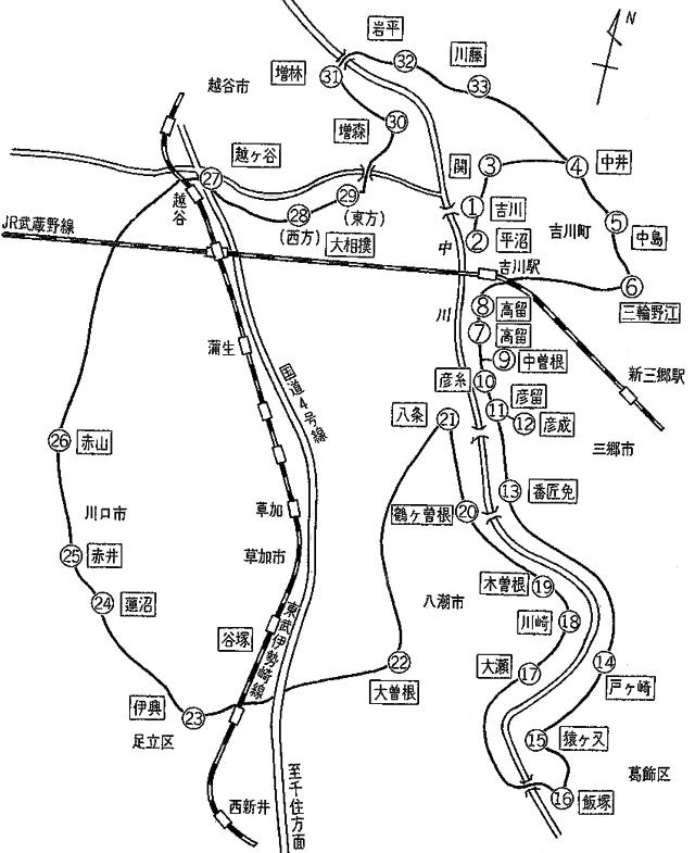 武蔵国三十三ヶ所霊場