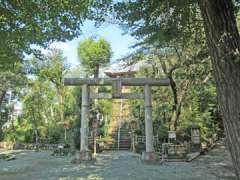 仙波愛宕神社鳥居
