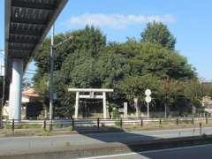 仙波浅間神社鳥居