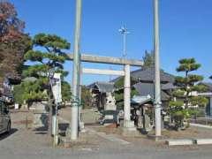 池辺熊野神社鳥居