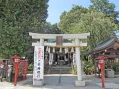川越八幡神社鳥居
