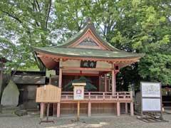 川越氷川神社舞殿
