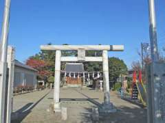小室氷川神社鳥居
