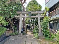 雪塚稲荷神社鳥居
