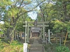 仙波氷川神社鳥居