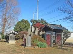 境内社八坂神社と御嶽神社