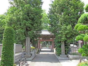 妙蔵寺山門