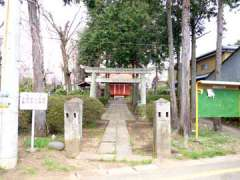 安行氷川神社鳥居