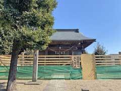 新井宿子日神社