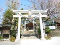 鳩ヶ谷氷川神社鳥居