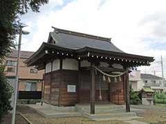 力神社社殿