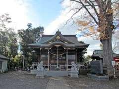 朝日神社社殿