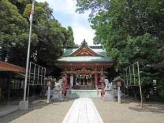 前川神社社殿