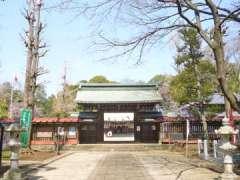 峯ヶ岡八幡神社神門