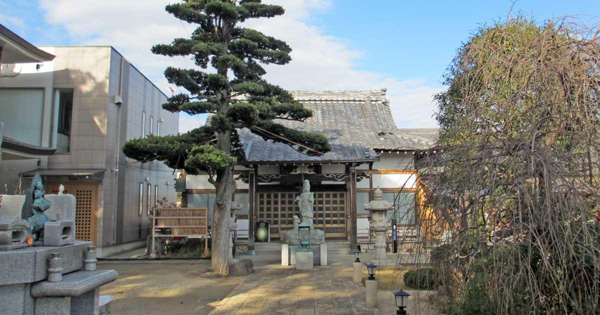 東福寺。川口市戸塚にある真言宗豊山派寺院