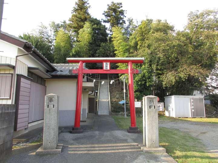 荒井の富士塚