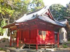 河輪神社拝殿