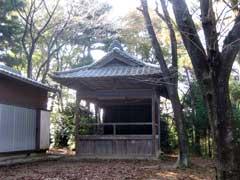 河輪神社神楽殿