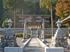 二柱神社二鳥居