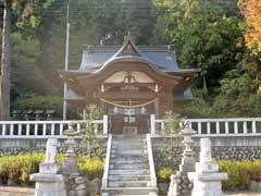 二柱神社拝殿