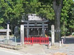 駒衣稲荷神社鳥居