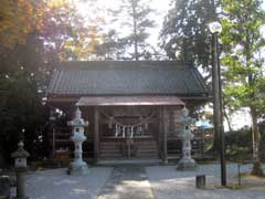 小茂田北向神社社殿