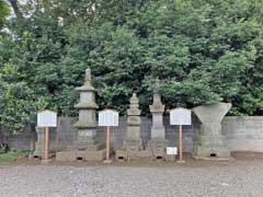 勝願寺真田家仙石家の墓