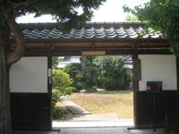 満願寺通用門