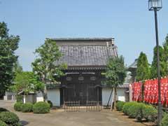 龍珠院龍昌寺墓域入口