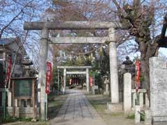 鴻神社鳥居