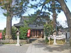 鴻神社拝殿