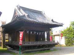 鴻神社神楽殿