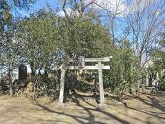 浅間神社(広瀬)富士塚