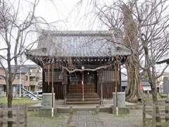千形神社拝殿