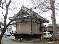 千形神社神楽殿