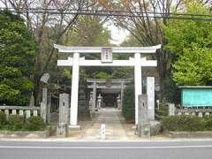 古宮神社鳥居