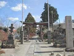 赤城久伊豆神社鳥居