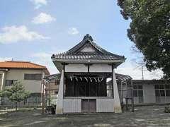 赤城久伊豆神社神楽殿