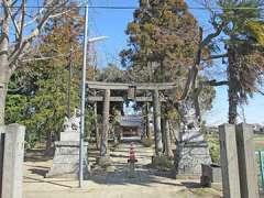 雀神社(柿沼)鳥居