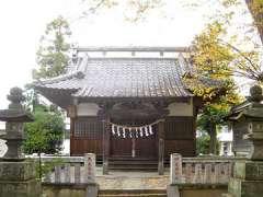 久下神社拝殿