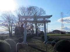 田中神社鳥居