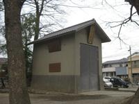 髙城神社戸隠山車庫