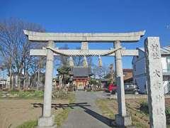 大雷神社(新島)鳥居
