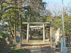 赤城神社(大麻生)鳥居