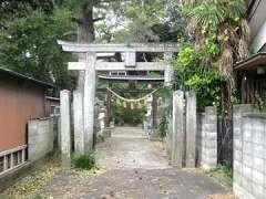 大塚熊野神社鳥居