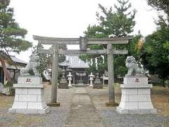 佐谷田神社鳥居