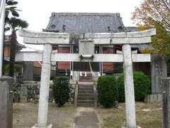 三島神社伊豆神社合殿社鳥居