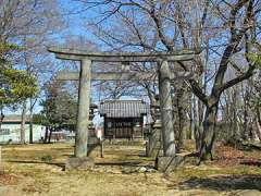 湯殿神社(四方寺)鳥居