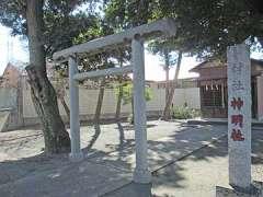 神明社(高柳)鳥居